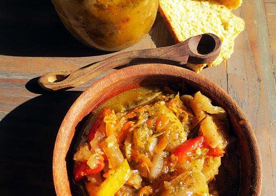 Aubergines en Escabèche (recette familiale)