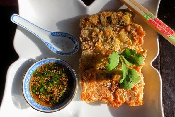 Tofu Pané Frit à la Taïwanaise