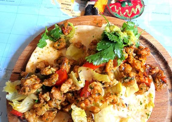 Tacos à la «ViandeVégétale»