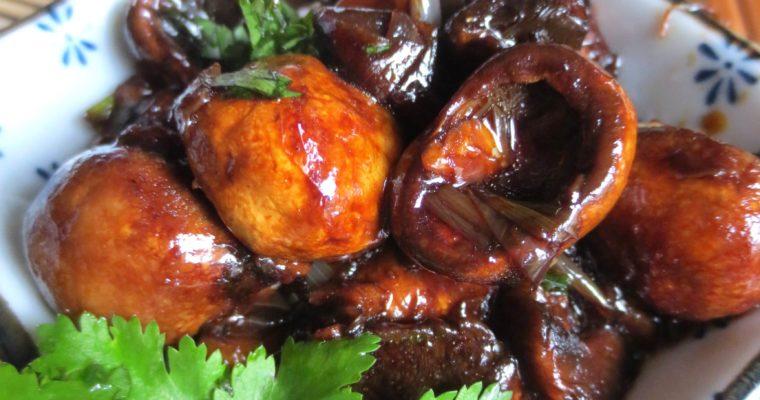 Champignons à la sauce «d'huître» Vegan