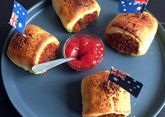 Rolls Façon Saucisses Vegan (Australie)