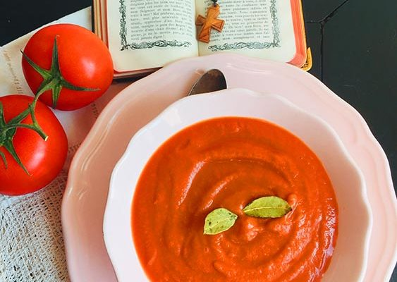 Soupe Florentine à la Tomate (Vatican)