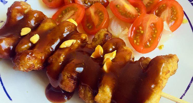 Brochettes- Sauce Sassate (Timor Oriental)