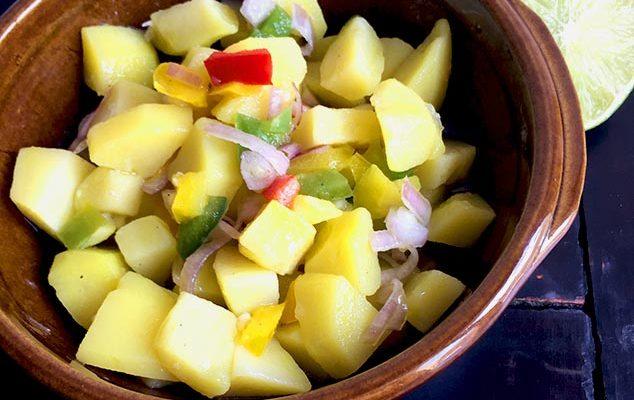 Salade de Pommes de Terre (Ethiopie)