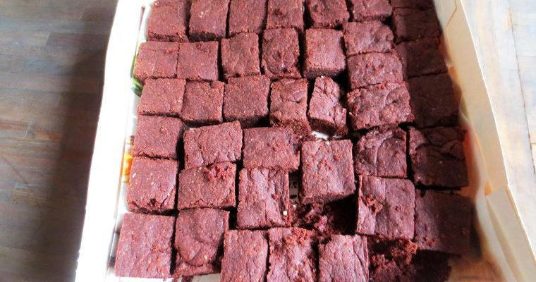 Brownies de Chocolat Vegan (Etats Unis)
