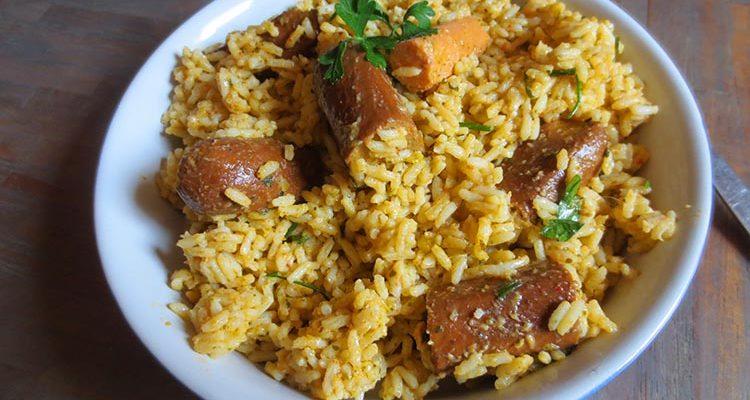 Riz aux Saucisses (Puerto Rico)