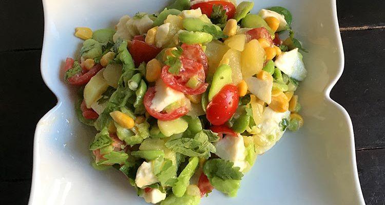 Salade de Fèves et Fromage Vegan(Pérou)