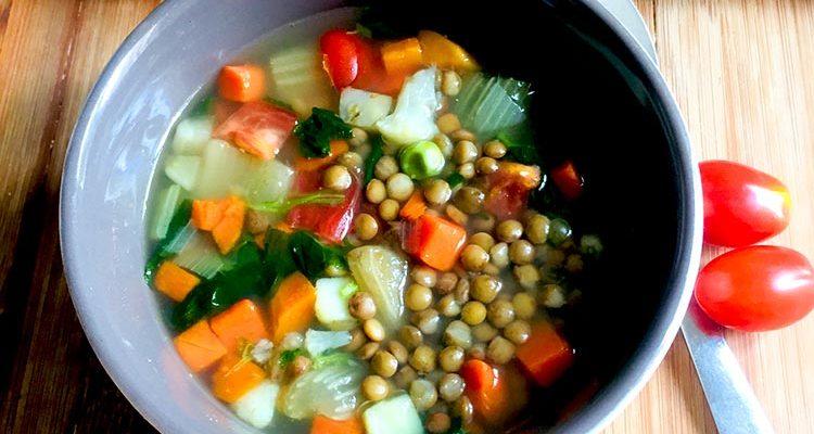 Soupe Végétalienne Rwandaise