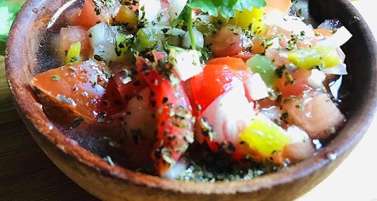 Salade Chimoldu Salvador