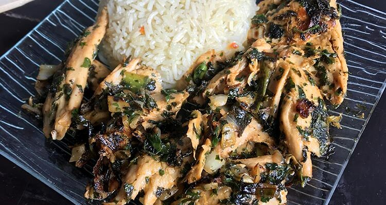 Lap Kaï, Salade Laotienne au Poulet Vegan