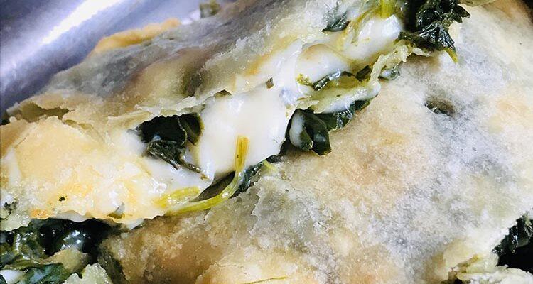 Focaccia Epinards-Stracchino Vegan